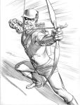 Green Arrow Pencils by mikemayhew