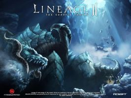 Lineage 2 antharas by xHeroess