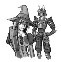 KH Simulacrum: New FFXI duds by Naerko