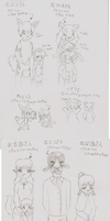 Practicing my japanese : Relatives by A-Lucky-Mutt