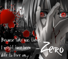 Zero Kiryu - Vampire Knight Quote by 0xMazzi