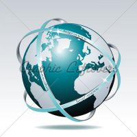 global internet by kingofvectors