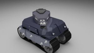 Basic Tank Attempt 1 by Apple303