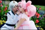 Chibiusa and Helios in Love by Chibi-MeNanA