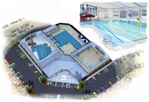 Pool Facility Concept by Orinn