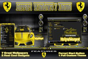 Ferrari Windows 7 Theme by pauliewog260