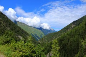 mountainscape 09 by Pagan-Stock