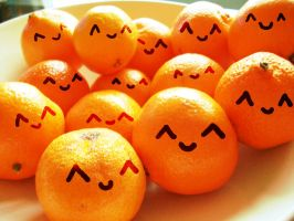 Happy Oranges by Kay-Johanna