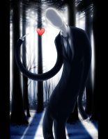 Slenderman in Love by ethereel