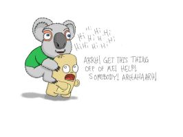 Koala Attack by esbenlp