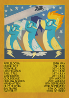 Wonderbolts poster by CatIron