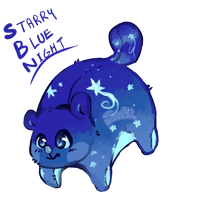 Pilloon Starry Blue Night (OTA) by crystal-time