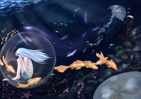 dream of water by Nibari