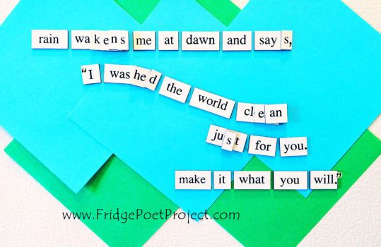 The Daily Magnet #359 by FridgePoetProject