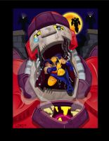 Wolverine vs. the Sentinels by lordmesa