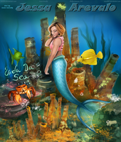 NOT So Little Mermaid Jessa Arevalo By alx234 by zenx007