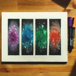Four Galaxies by quinshi