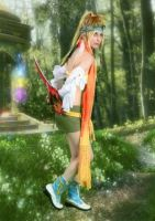 Crouching Tiger, Hidden Rikku! by Mistress-Quinzel