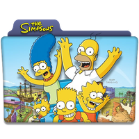 The Simpsons : TV Series Folder Icon by DYIDDO