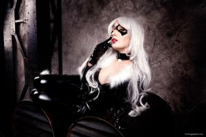 Felicia Hardy as Black Cat by bellatrixaiden
