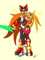 My very firts Rockman Zero fan by Soul-Rokkuman