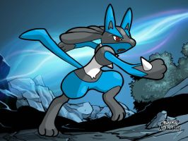 Lucario by WhiteOrchid14