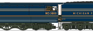 MFSC Streamliner No.3800 by Lapeer