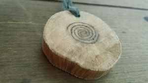Celtic Spiral Oak Pendant by Troll-Blood