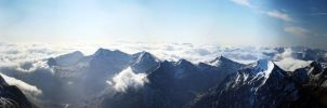 Ben Nevis Panorama by moinerus