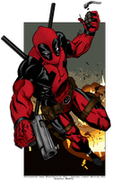 Deadpool by PokeTheCactus