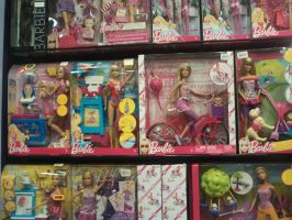more new barbie in shop by filipberak