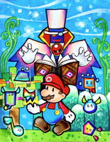 Super Paper Mario- again by Zeldagal