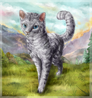 Feathertail. Warrior Cats. by art-by-Nikem