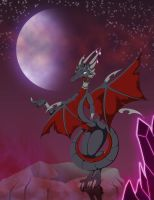 Cynder of Eternal Night by StarGriffin
