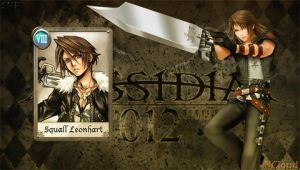 Dissidia 012 Squall 1 by NaughtyBoy83