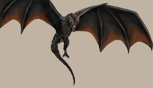 Game of Thrones: Drogon by Acinoyx