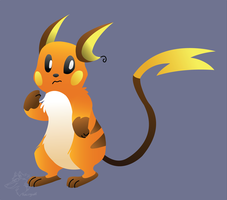 Vector Raichu by racingwolf