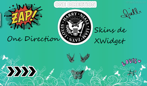 One Direction Xwidget By Carotutos by CarolinaTutoriales
