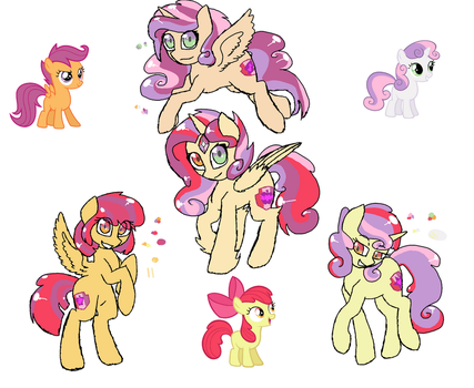 CMC fusions by synnibear03