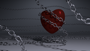 Chained Heart V2 by aad345