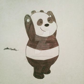 Panda from We Bare Bears by yahoo201027