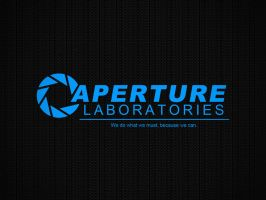 Aperture Science Background by draco9089