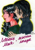 Bella and Severus by simplytonks