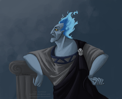 Hades lord of the underworld by thehappygirl