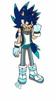 Thunder the Porcupine  (new look) by B-Gemini