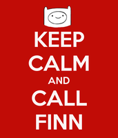 Keep calm and call finn by sebastiancooper
