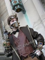 Halloween 2009 Steampunk by obi-wan8403