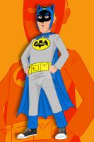 Hank Venture Batman by AlanSchell