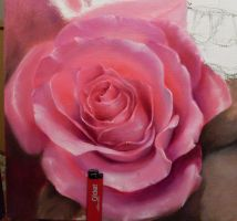 rose process new painting by vangoghtattoo