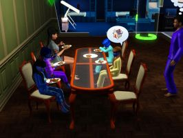Sims 3 - Denise talks about our new upgraded home by Magic-Kristina-KW
